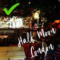 Half Moon Pub, London
