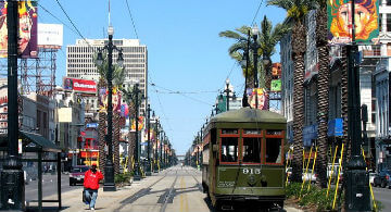 Travel to New Orleans, Louisiana